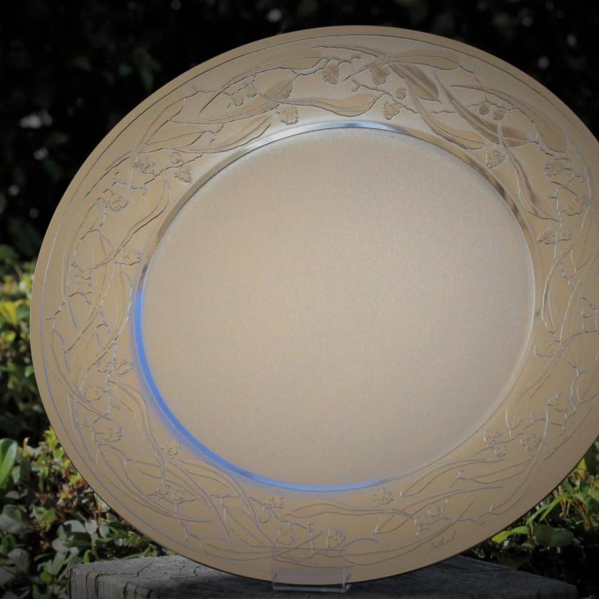 Charger Plate in Flowering Gum by Don Sheil