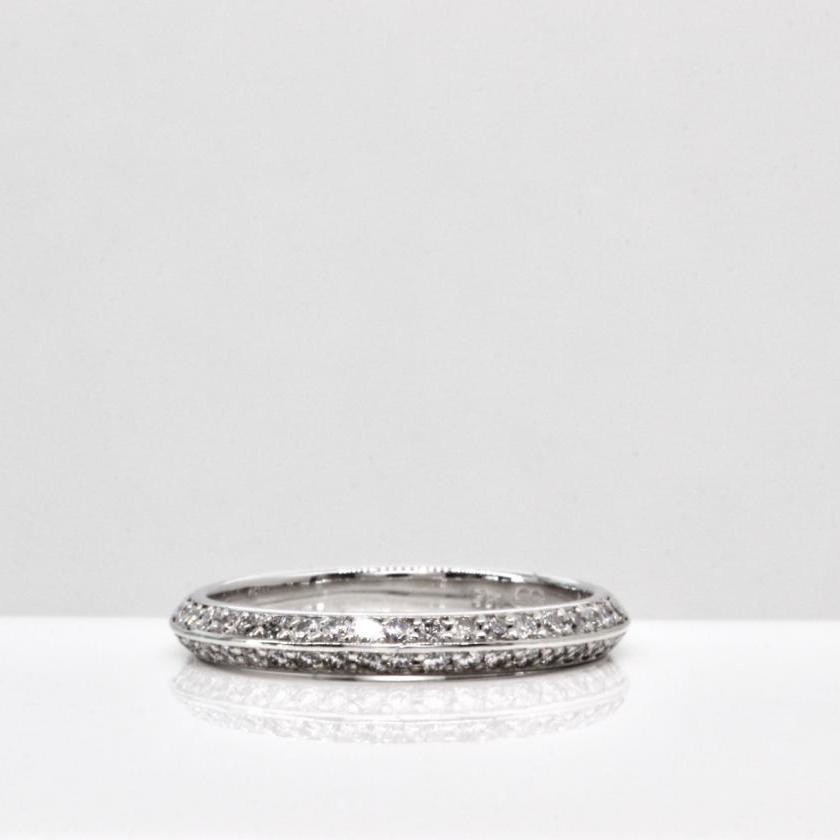 18ct White Gold Diamond Set Wedder